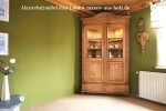 Eckvitrine mit Beleuchtung im Landhausstil Holz Kiefer