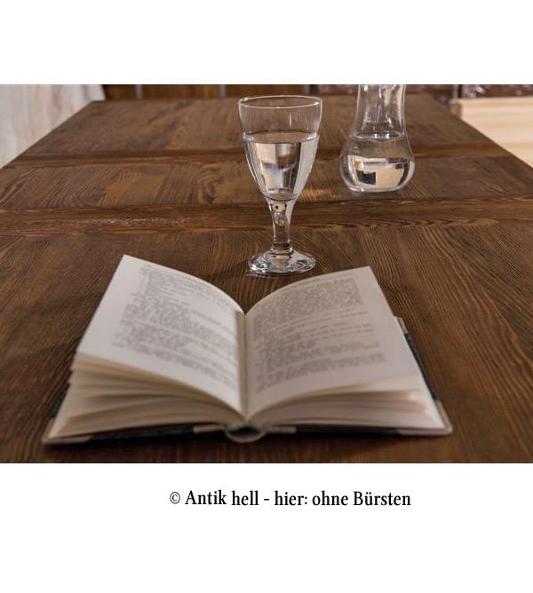 Massivholzmöbel tische  Tisch mit Schubladen 90-200 cm im Landhausstil - MASSIV AUS HOLZ