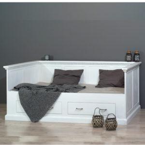 Bett mit Lehne 100x200 cm