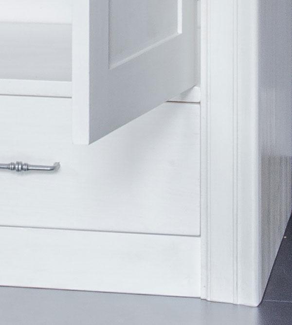 sideboard 2 t rig mit 3 schubladen modern collection massiv aus holz. Black Bedroom Furniture Sets. Home Design Ideas