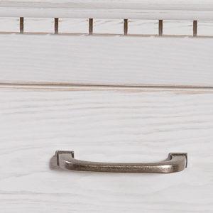 Echtholzschrank Massivholzmöbel in Weiß
