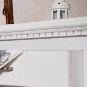 Echtholzmöbel Sideboard mit Aufsatz