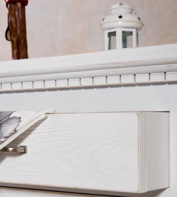 sideboard gro klassisch 3 t rig mit 3 schubladen massiv aus holz. Black Bedroom Furniture Sets. Home Design Ideas