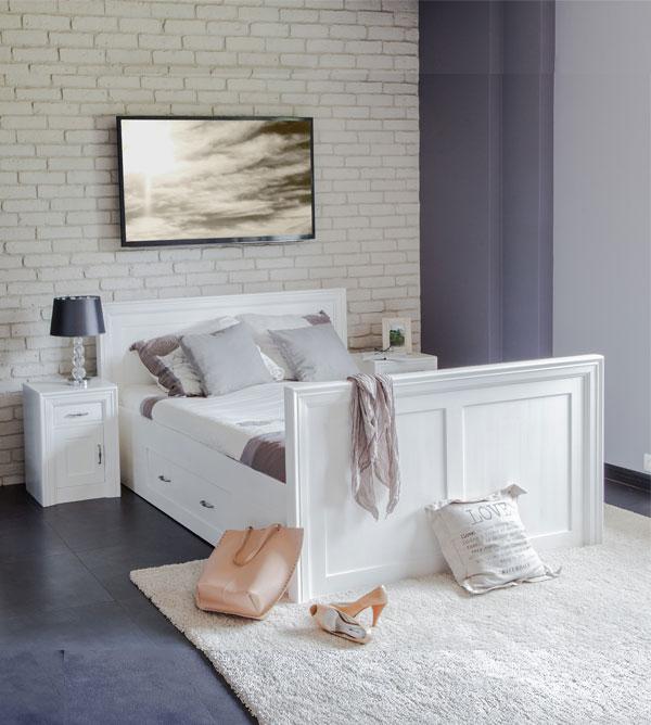 Einzelbett design  Einzelbett 100x200 cm modern Lattenrost, 2 Schubladen optional ...