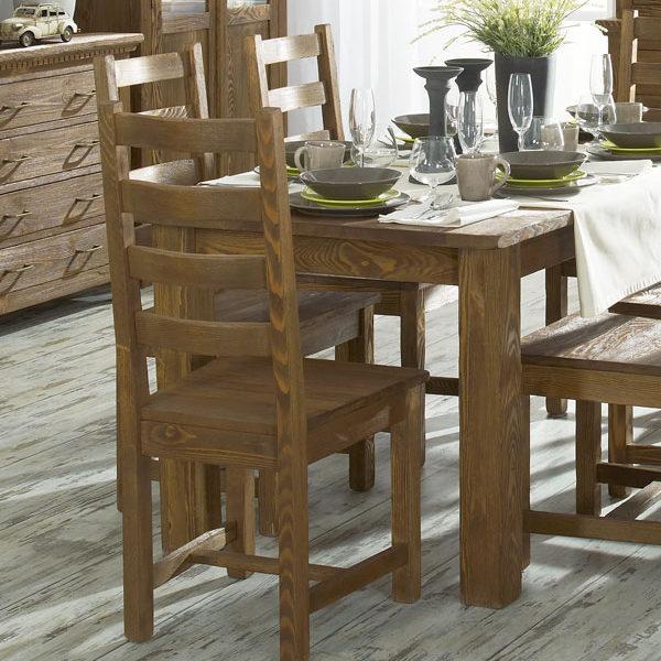 Esszimmer Esstisch massiv Holz Kiefer