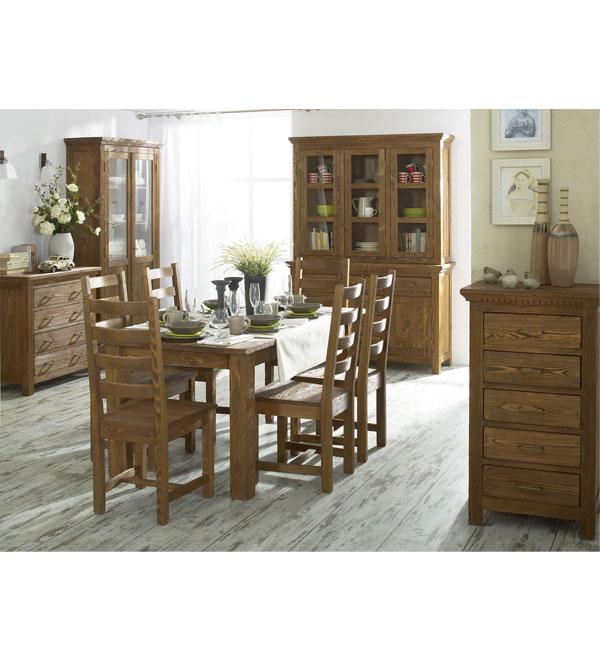 Esszimmermöbel Holz massiv Kiefer