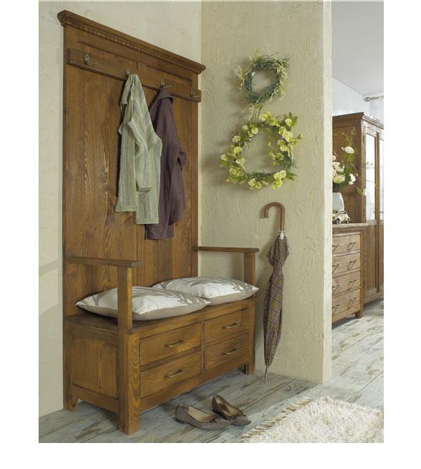 garderobe rustikal holz remarkable garderobe rustikal. Black Bedroom Furniture Sets. Home Design Ideas
