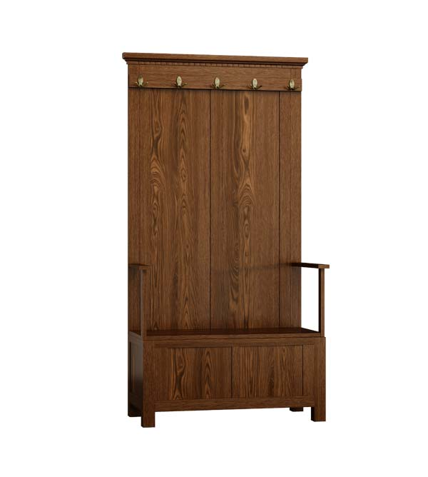 flurgarderobe klein sitzbank schubladen truhe massiv aus. Black Bedroom Furniture Sets. Home Design Ideas