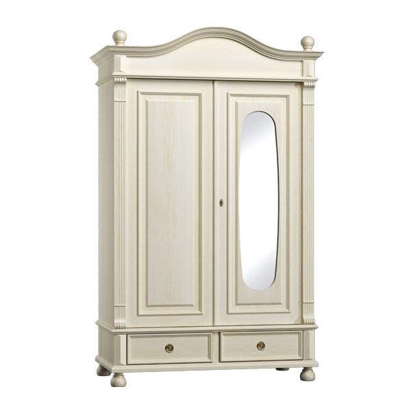 landhaus flurschrank gro 2 t rig mit spiegel massiv aus holz. Black Bedroom Furniture Sets. Home Design Ideas