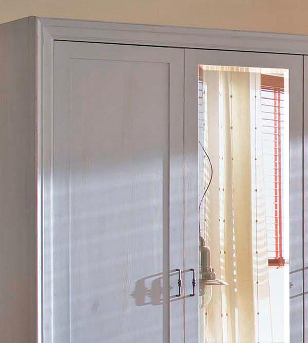 kleiderschrank 2 t rig mit spiegel schubladen optional. Black Bedroom Furniture Sets. Home Design Ideas
