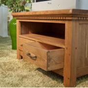 Hifi Schrank massiv Holz Kiefer