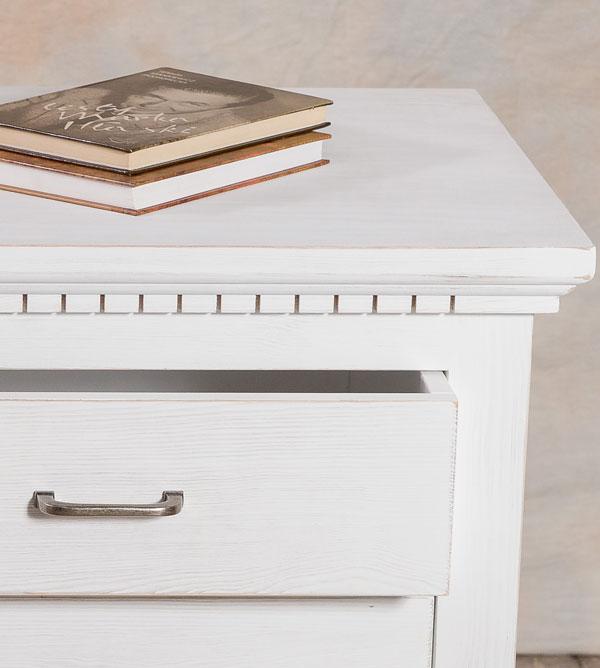 highboard gro klassisch mit 6 schubladen massiv aus holz. Black Bedroom Furniture Sets. Home Design Ideas