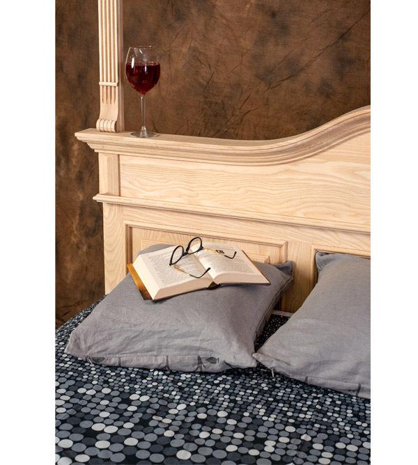 Himmelbett - Bett mit Baldachin aus Esche