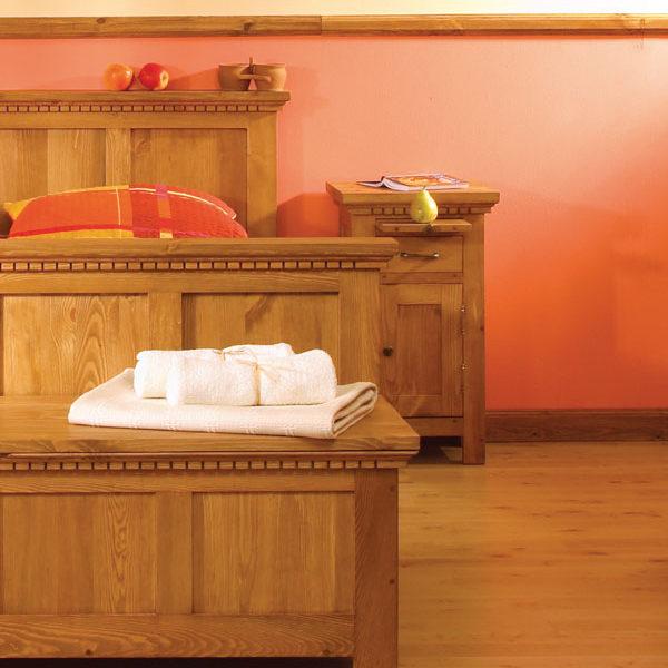 Holztruhe Schlafzimmermöbel massiv Kiefer