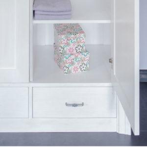 Kleiderschränke in Weiß Holz massiv Möbel