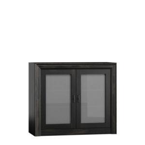 Schrank mit Glastüren 2-türig