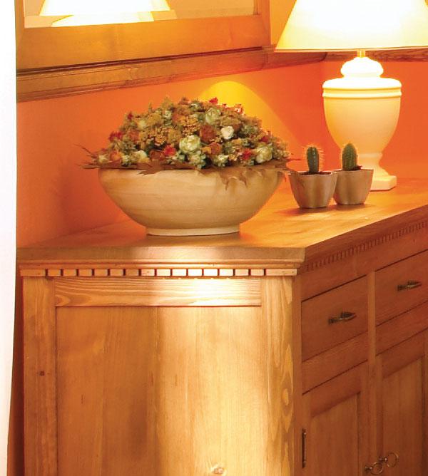 Apothekerschrank klein klassisch 2 t rig mit 7 schubladen for Kommode echtholz