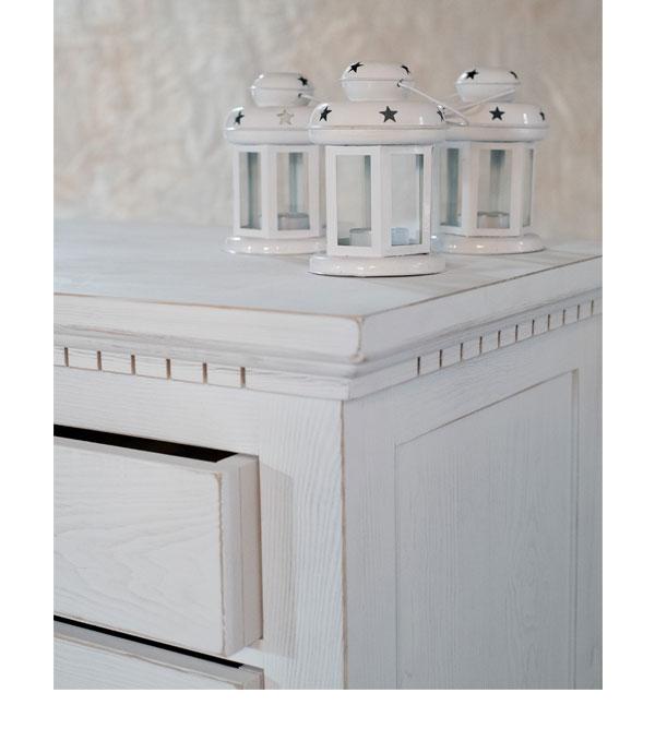 schrank mit aufsatz klein 2 t rig mit 2 schubladen massiv aus holz. Black Bedroom Furniture Sets. Home Design Ideas