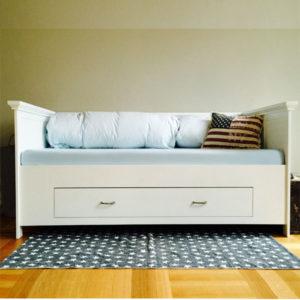 Bett mit Lehne 90x200 cm