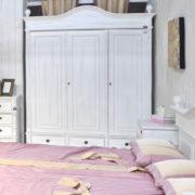 Landhaus Kleiderschrank Alt weiß shabby chic
