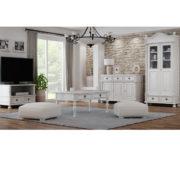 Landhausmöbel Couchtisch weiß Wohnzimmer