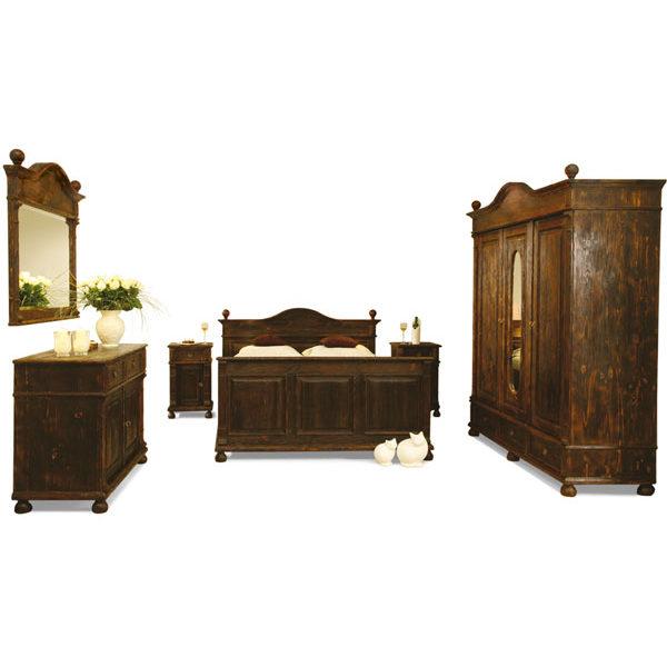 Landhausmmöbel Echtholz Schlafzimmermöbel