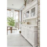 Landhausmöbel Geschirrschrank in Weiß