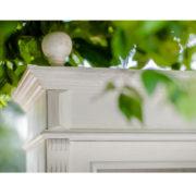 Landhausstil Schrank in Weiß