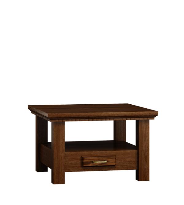 couchtisch classic collection quadratisch mit 1 schublade. Black Bedroom Furniture Sets. Home Design Ideas