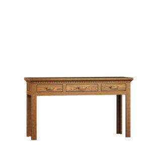 Tisch mit Schubladen Massivholzmöbel
