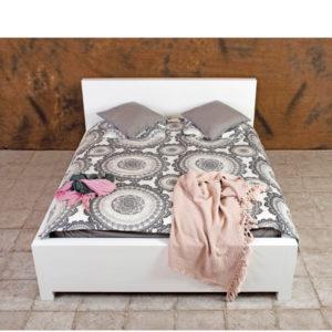 Massivholzbett 90x200 cm minimalistisch modernes Design aus massivem Kiefernholz