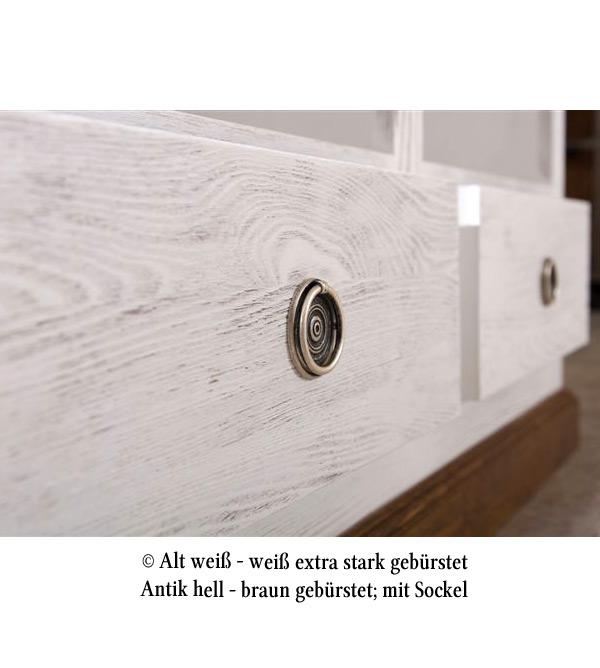 buffetschrank gro mit 4 schubladen klassisch massiv aus holz. Black Bedroom Furniture Sets. Home Design Ideas