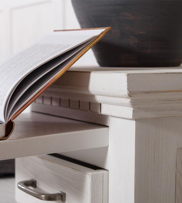 wohnzimmertisch classic collection gro quadratisch massiv aus holz. Black Bedroom Furniture Sets. Home Design Ideas