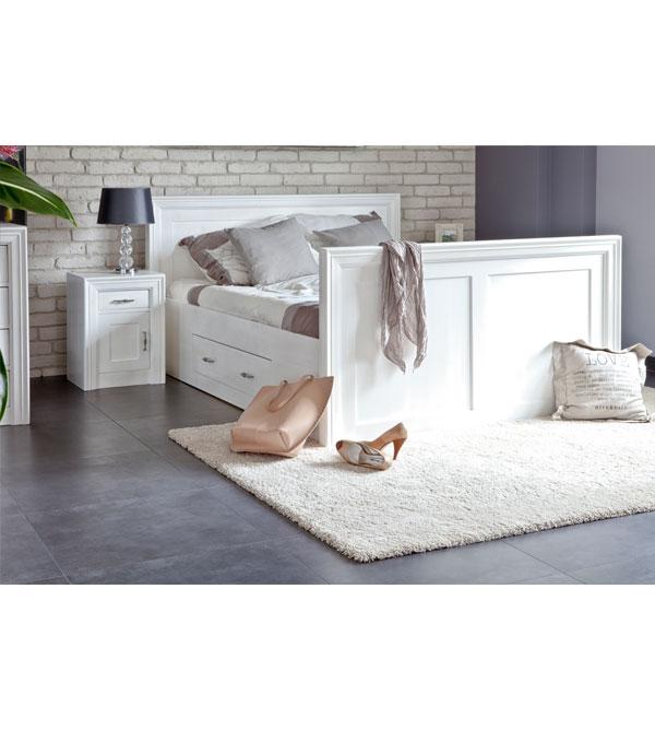 nachttisch modern links rechts anschlagend massiv aus holz. Black Bedroom Furniture Sets. Home Design Ideas
