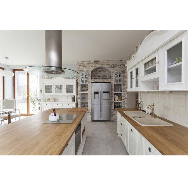 Massivholzmöbel in Weiß Landhausküche