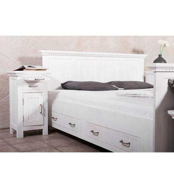 nachttisch klassisch links rechts anschlagend massiv aus. Black Bedroom Furniture Sets. Home Design Ideas
