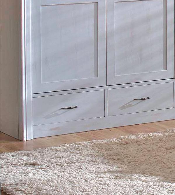 kleiderschrank 2 t rig ohne spiegel schubladen optional. Black Bedroom Furniture Sets. Home Design Ideas