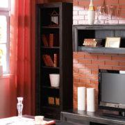 Regale im Wohnzimmer Massivholzmöbel