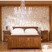 Schlafzimmer Echtholzmöbel aus Kiefer