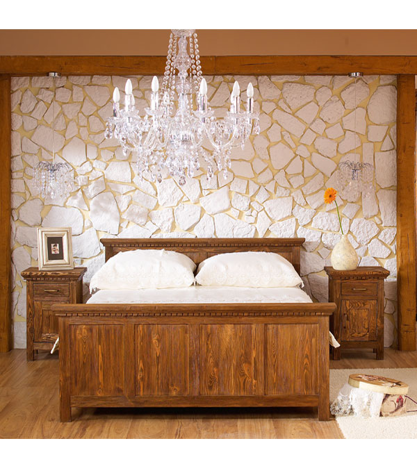 bett 140x200 cm klassisch lattenrost 4 schubladen optional massiv aus holz. Black Bedroom Furniture Sets. Home Design Ideas