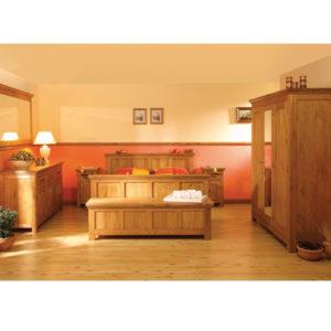 Schlafzimmermöbel Spiegel Holz massiv Kiefer