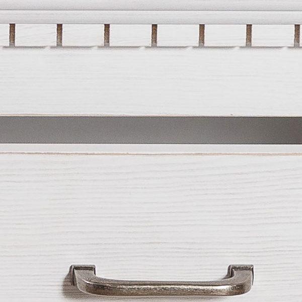 Schrank Kiefermöbel in Alt weiß