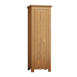 Kleiderschrank klassisch 1-türig massiv Holz Kiefer