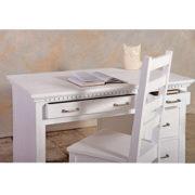 Schreibtisch in Weiß gewischt shabby chic