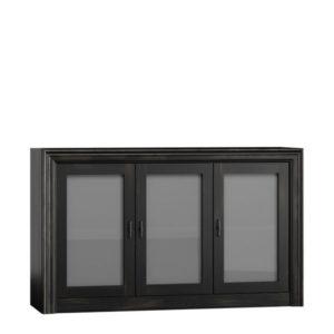 Sideboard mit Glastüren, massiv Holz Kiefer