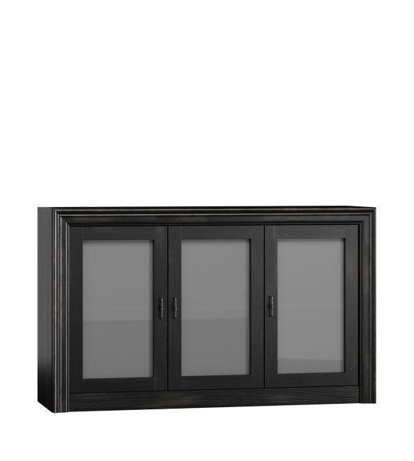Wohnzimmerschrank mit Glastüren
