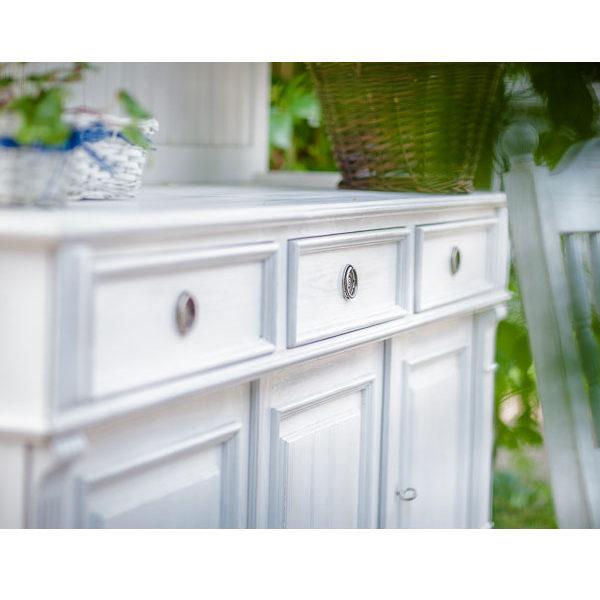 Sideboard Landhausstil weiß gewischt