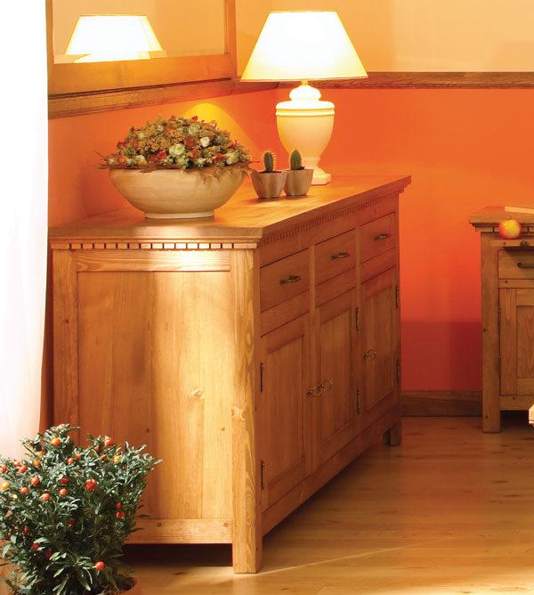 Sideboard 3-türig mit 3 Schubladen