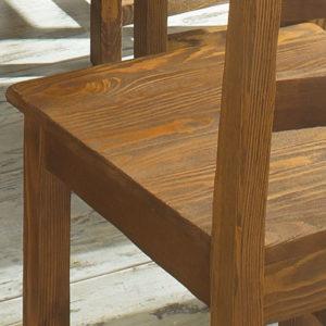 Stuhl Holz antik hell rustikal gebürstet