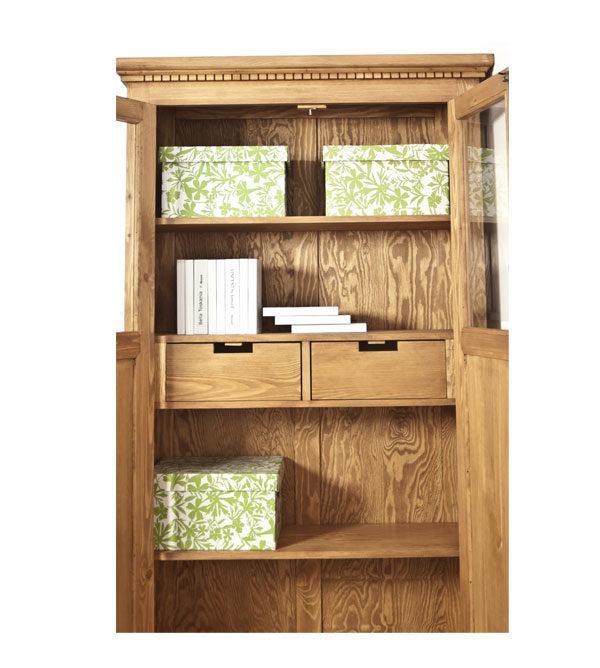 Vitrinenschränke, Möbel aus Massivholz Kiefer
